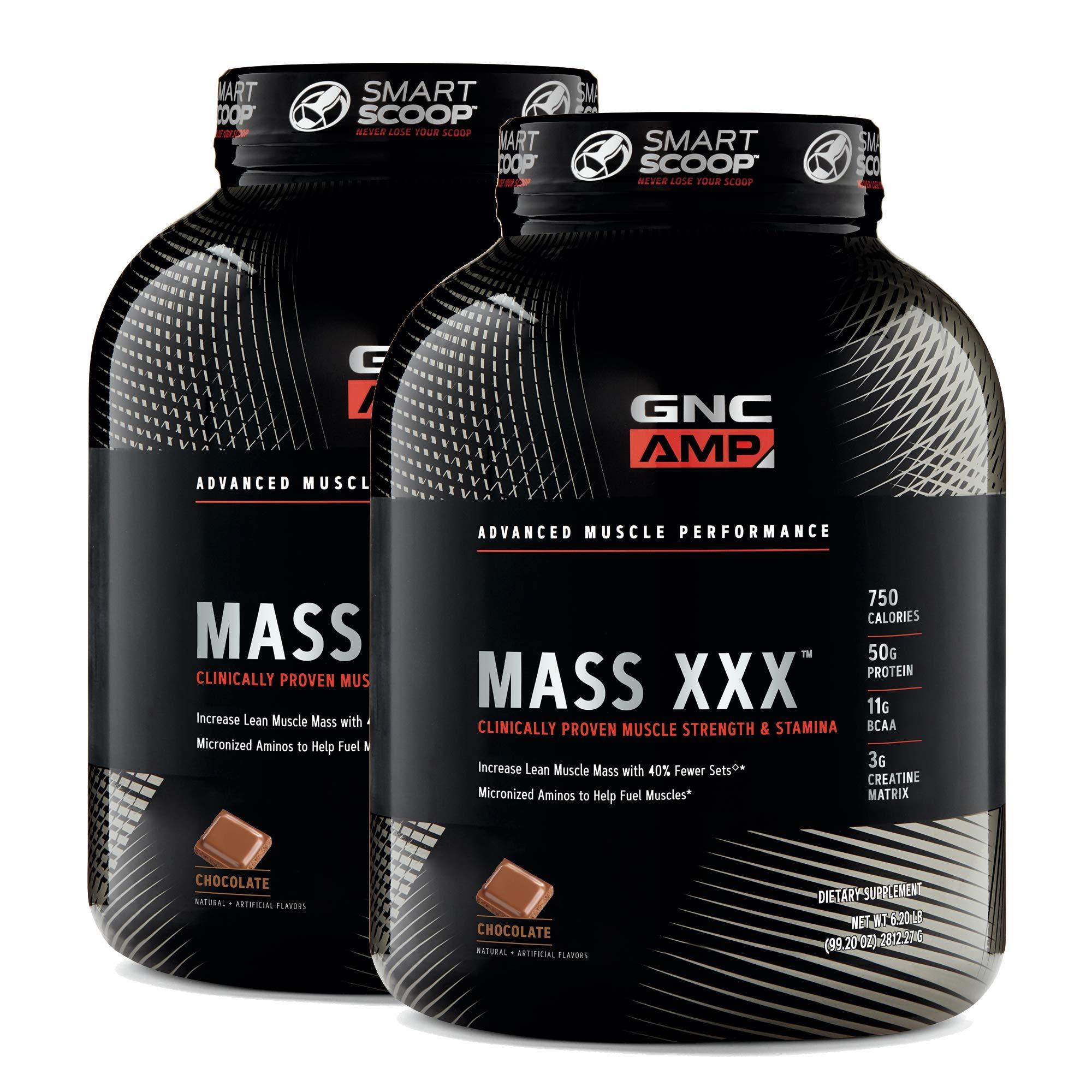 GNC AMP Mass XXX - Chocolate - Twin Pack
