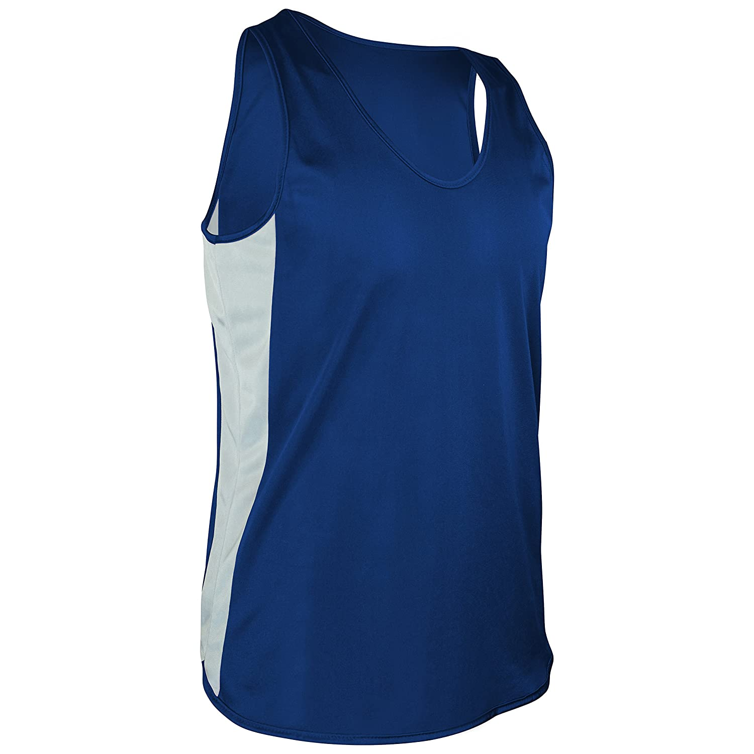 Game Gear TR-980Y-CB Boy's and Girl's Lightweight Single Ply Track Singlet with Side Panels