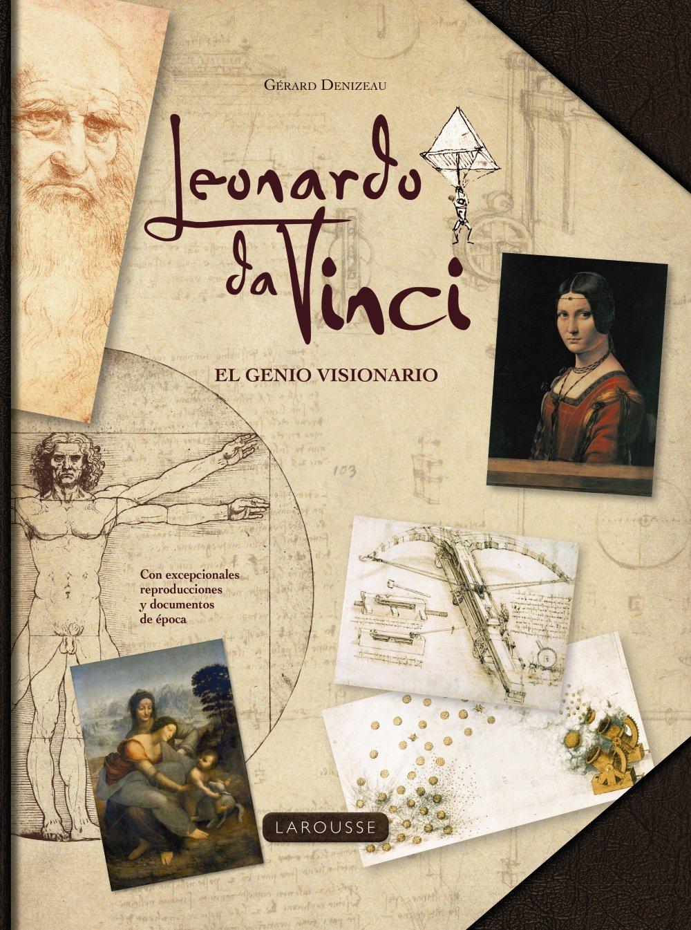 Leonardo da Vinci en nuestra selección de libros para regalar el Día del Libro