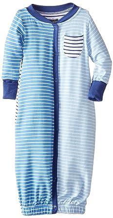 8d50bf90ea Amazon.com  Mud Pie Baby Boys  Convertible Sleepwear Gown  Clothing