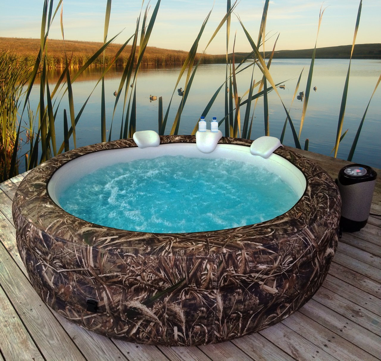 Vanish Spa 6-person Portable Hot Tub Realtree Max5