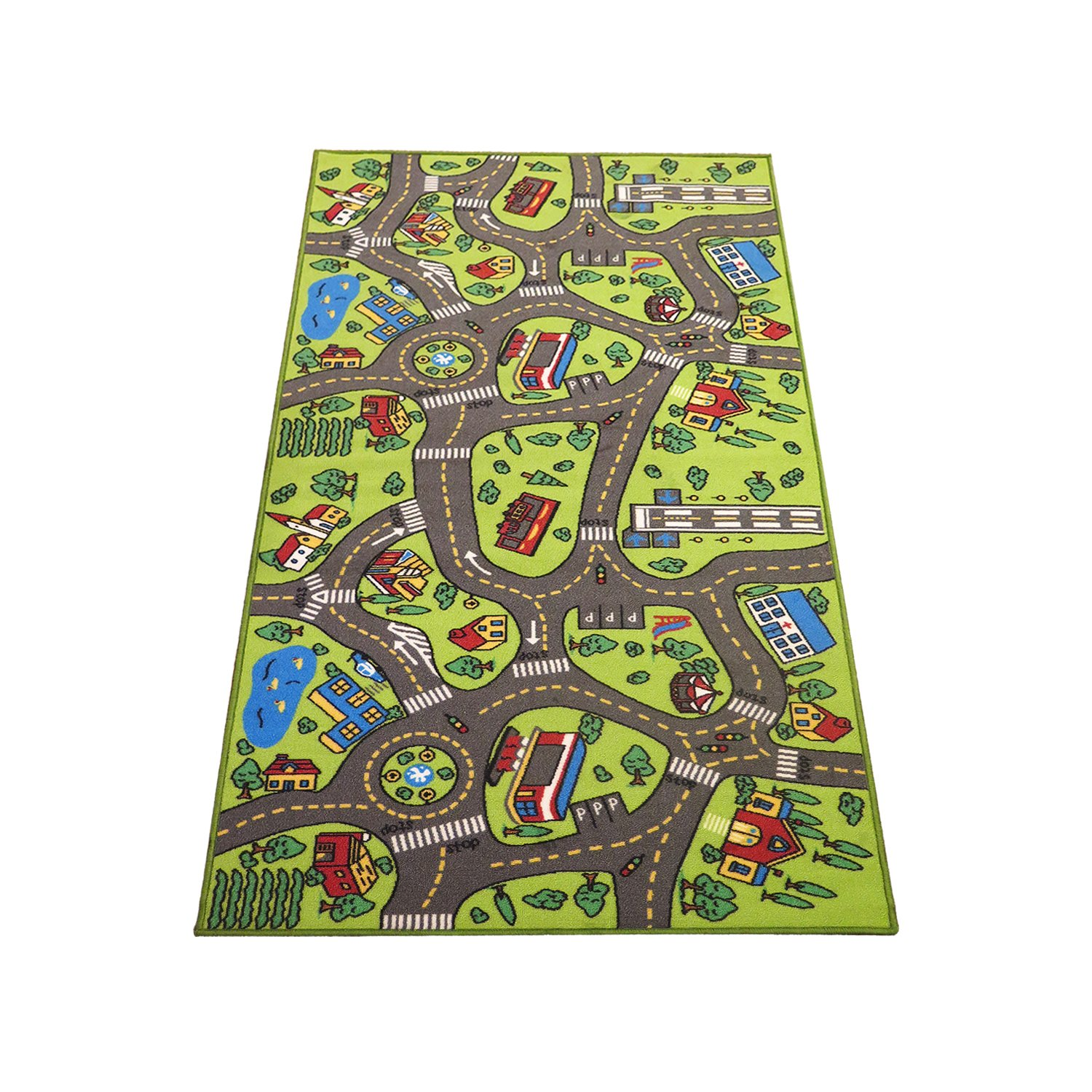Kids Carpet Playmat Rug City Life  Great For Playing With Cars   Toys    Play Safe Learn Educational   Have Fun  Ideal Gift For Children Baby Bedroom. Shop Amazon com   Kids  Rugs
