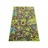 """Amazon Price History for:Extra Large 79"""" x 40""""! Kids Carpet Playmat Rug- Great For Playing With Cars - Play, Learn And Have Fun Safely"""