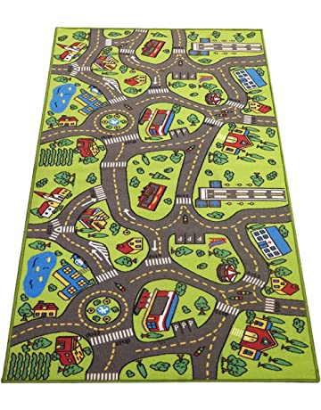 Kids Carpet Playmat Rug City Life  Great
