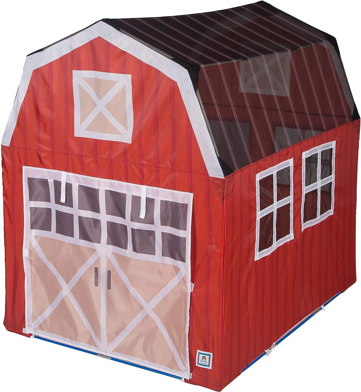 "Pacific Play Tents 60810 Barnyard Playhouse Tent, 48"" x 38"" x 48"", Multi"