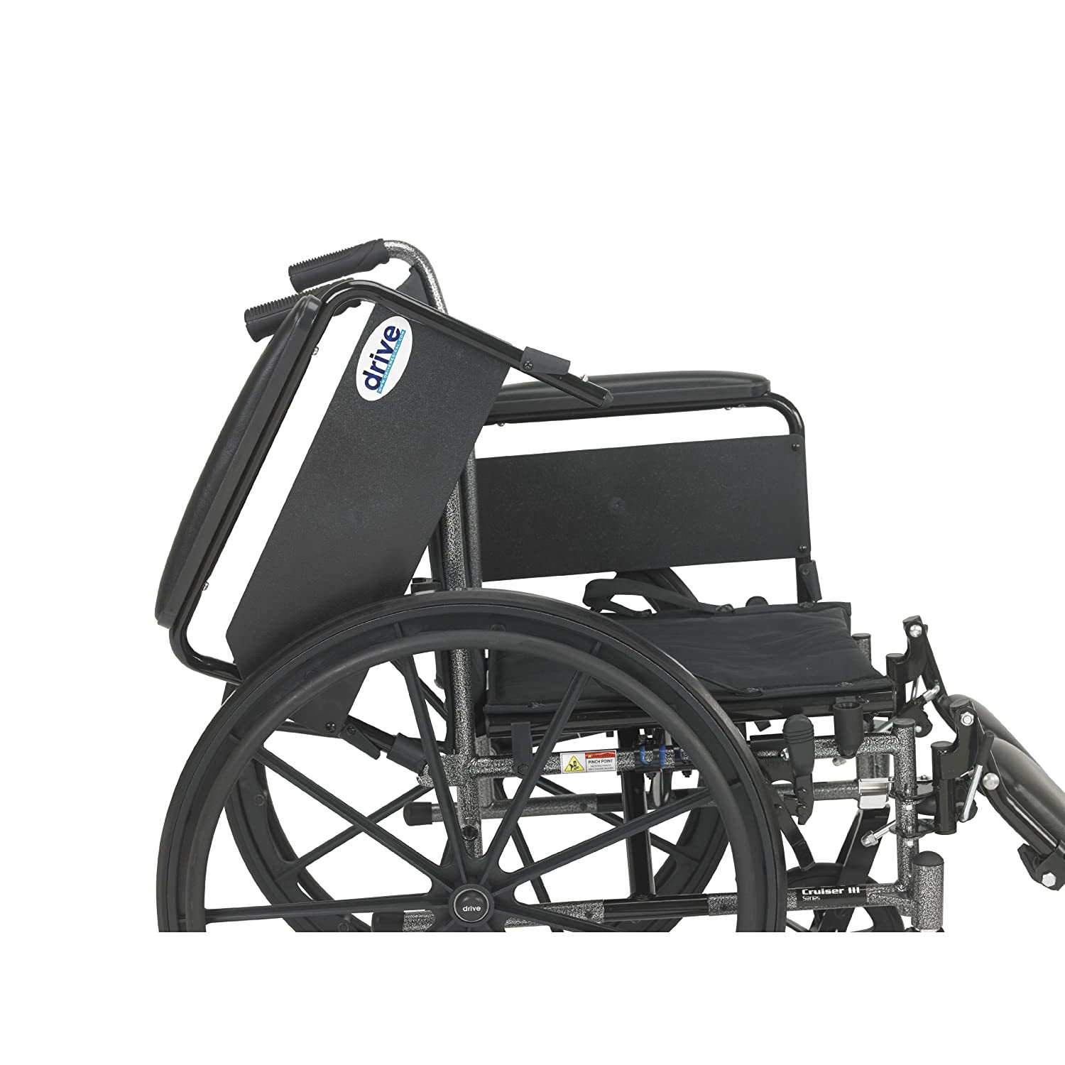 amazon com drive medical cruiser iii light weight wheelchair with