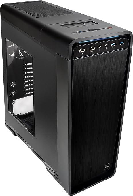 Thermaltake Urban S71 Full-Tower Negro - Caja de Ordenador (Full-Tower, PC, SECC, Negro, ATX,EATX,Micro ATX, Juego): Amazon.es: Informática