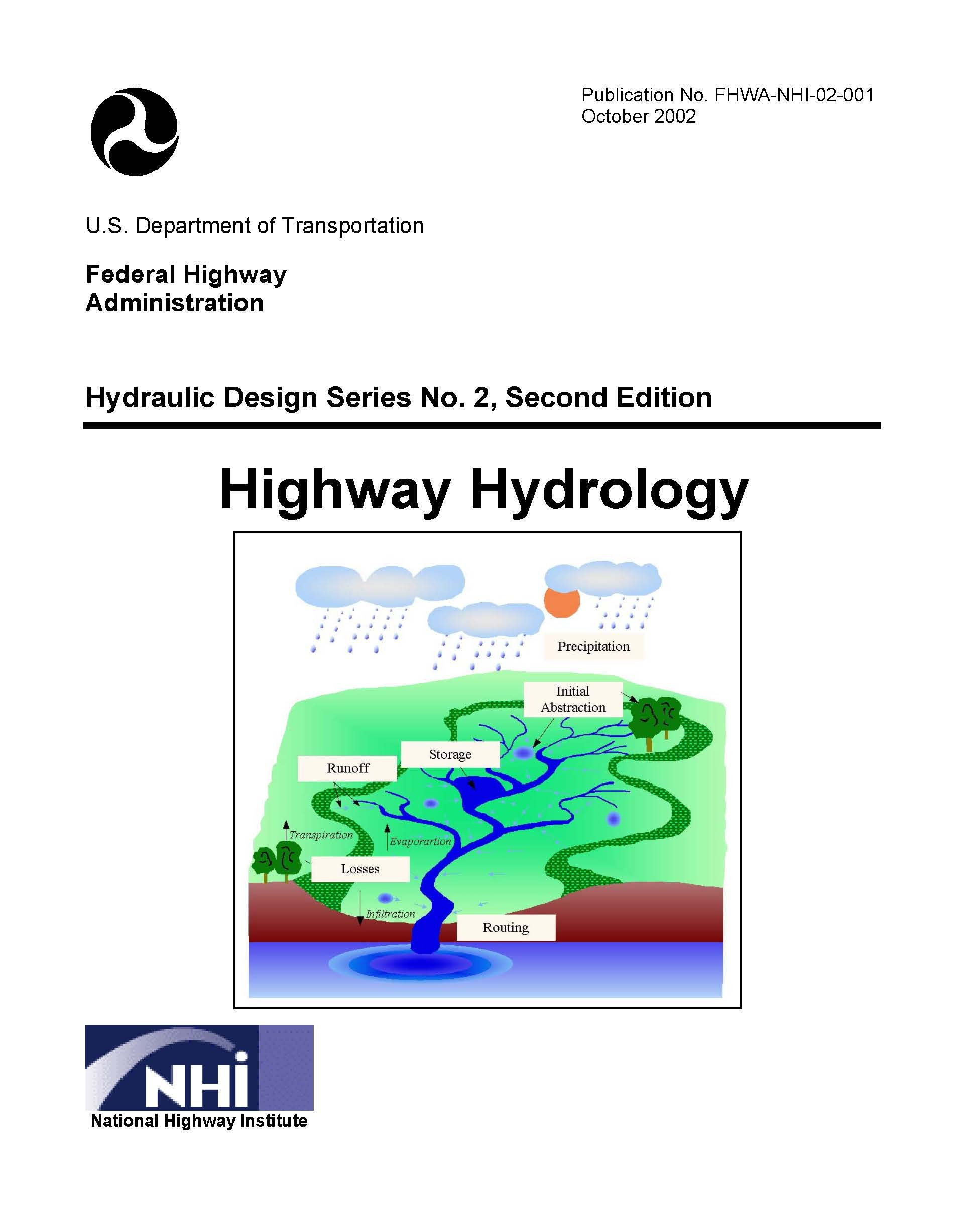 Highway Hydrology  Hydraulic Design Series No  2, Second