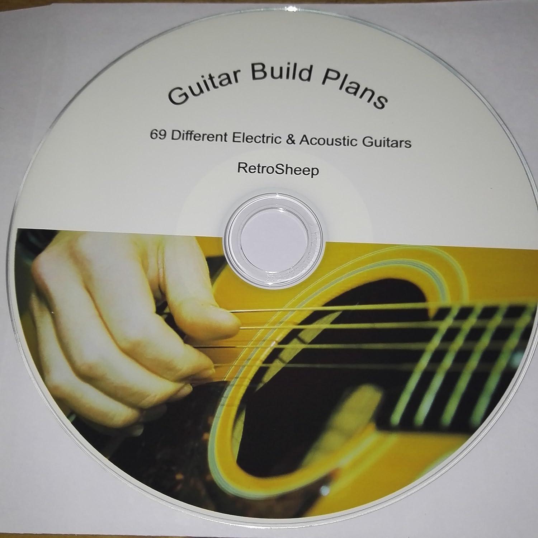 Los planes de la construcción de la guitarra acústica eléctrica ...