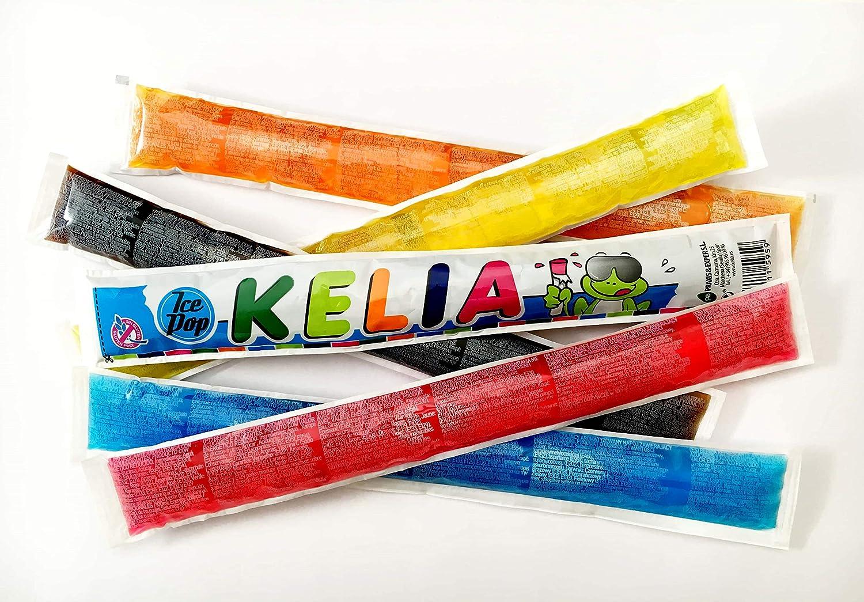 Kelia Polos para congelar 65 ml sabores surtidos [Pack 15 ud x 65 ...