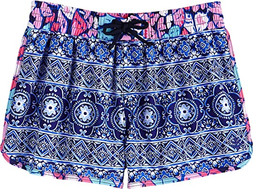 30ce6ca235 Coolibar UPF 50+ Girls' Wavecatcher Swim Shorts - Sun Protective (X-Small