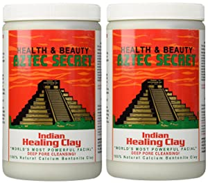 Aztec Secret Indian Healing Bentonite Clay, 2 Count