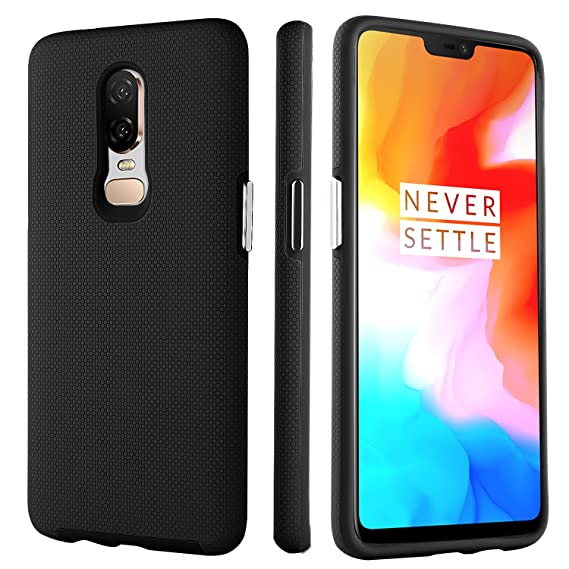 competitive price 1a933 f8834 BENTOBEN Phone Case for OnePlus 6, Shockproof Protective Slim Cases, Heavy  Duty Dual Layer Hybrid 2 in 1 Hard PC Cover Soft TPU Bumper Phone Cover ...