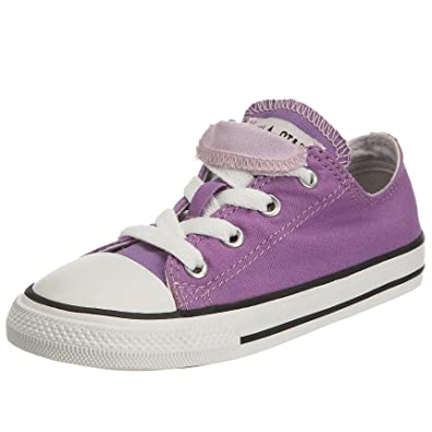 f9052fa88ad795 Converse Children s Chuck Taylor Allstar Double tongue amethyst  orchid White 708782 9 Child UK  Amazon.co.uk  Shoes   Bags