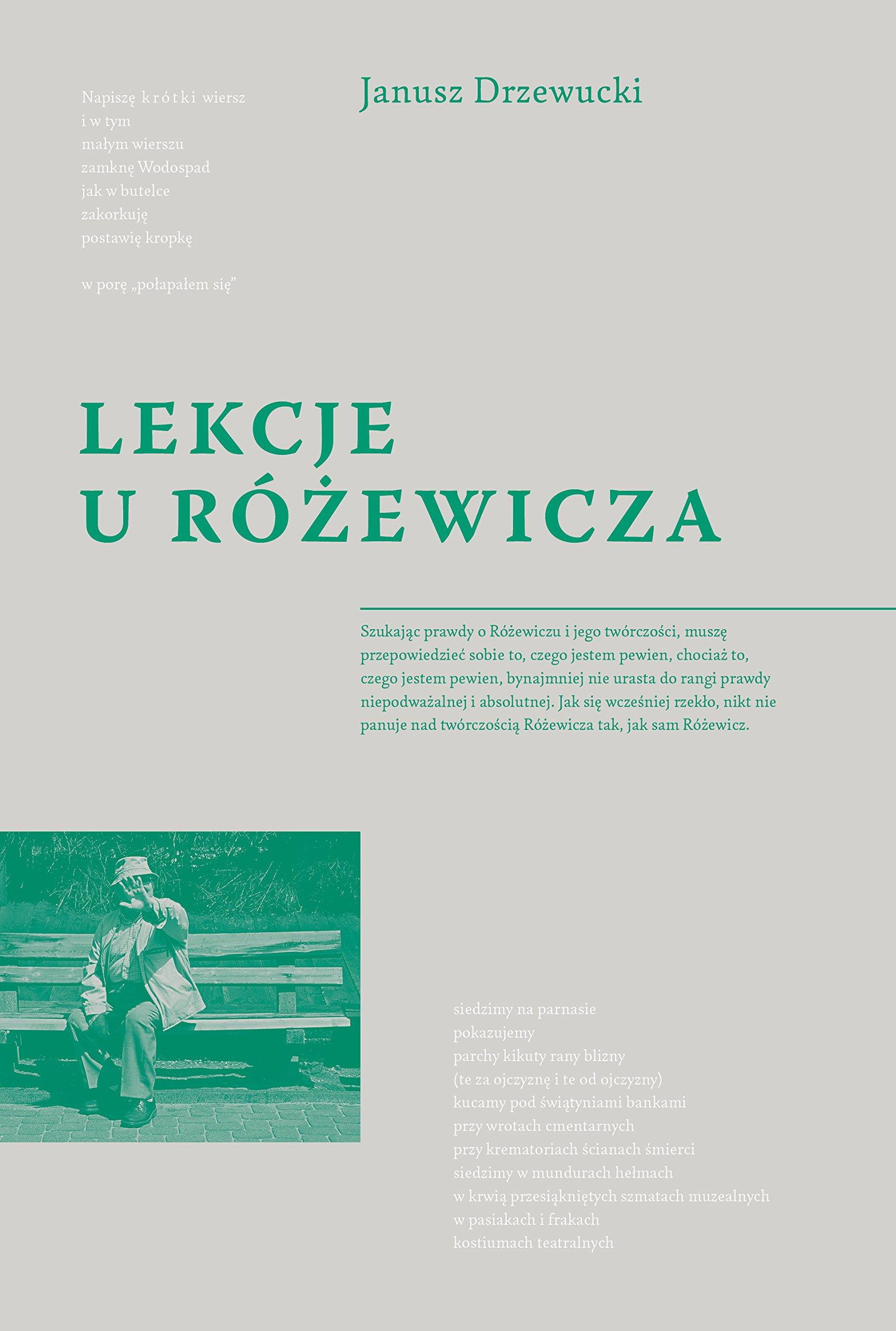 Lekcje U Rozewicza Amazones Jerzy Drzewucki Libros En