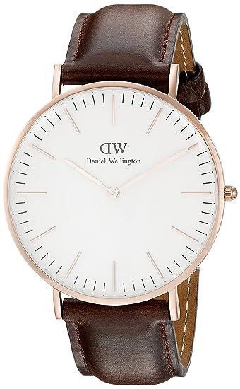 da6704ea48b8 Daniel Wellington Reloj con Correa de Acero para Hombre 0109DW  Amazon.es   Relojes
