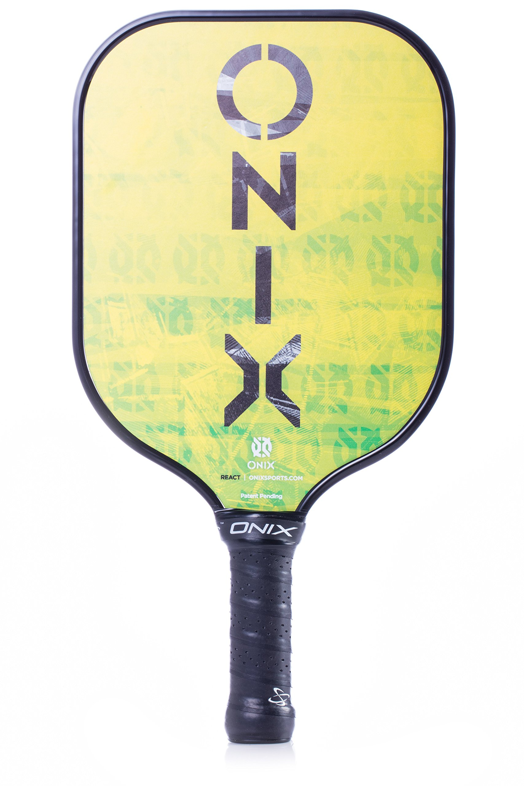 Onix React Pickleball Paddle Features Boosted Sweet Spot from Nomex Core Insert and Graphite Face