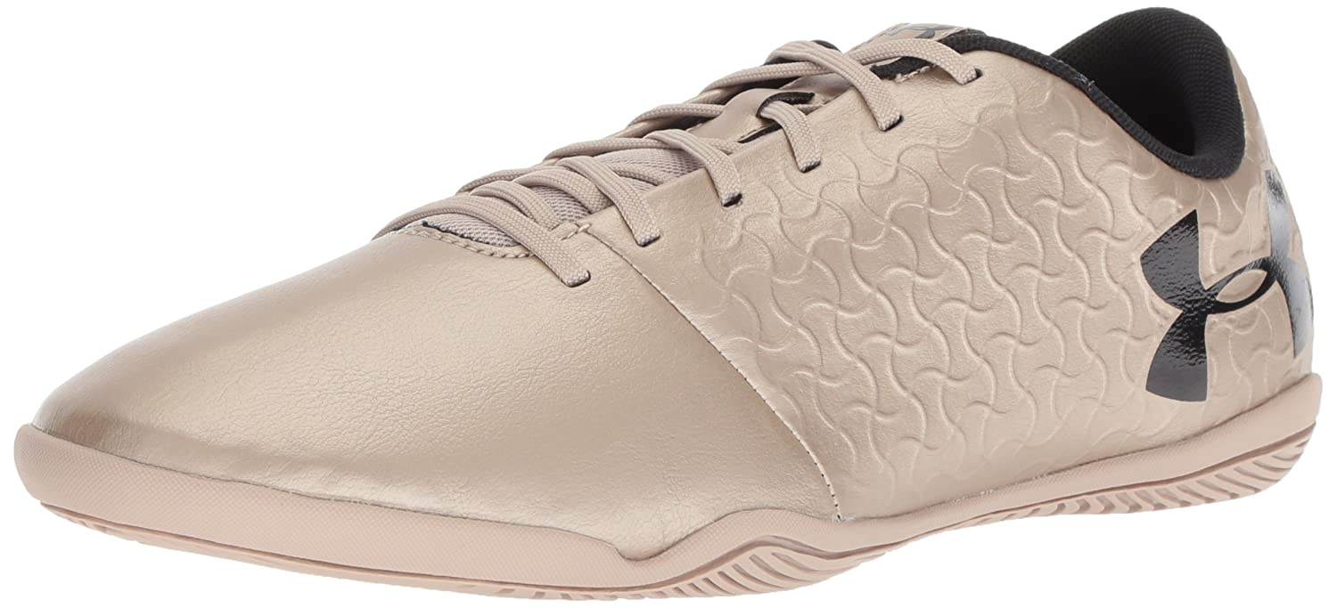 Under Armour Men's Magnetico Select Indoor Soccer Shoe B072FJJFYY 7 M US|Metallic Faded Gold (900)/Black