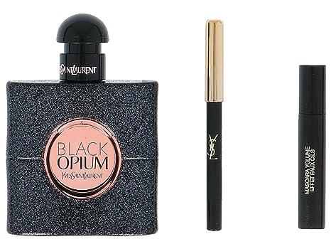 Saint Opium ContientEau Black Coffret Yves De Laurent Cadeau v8wnPymN0O