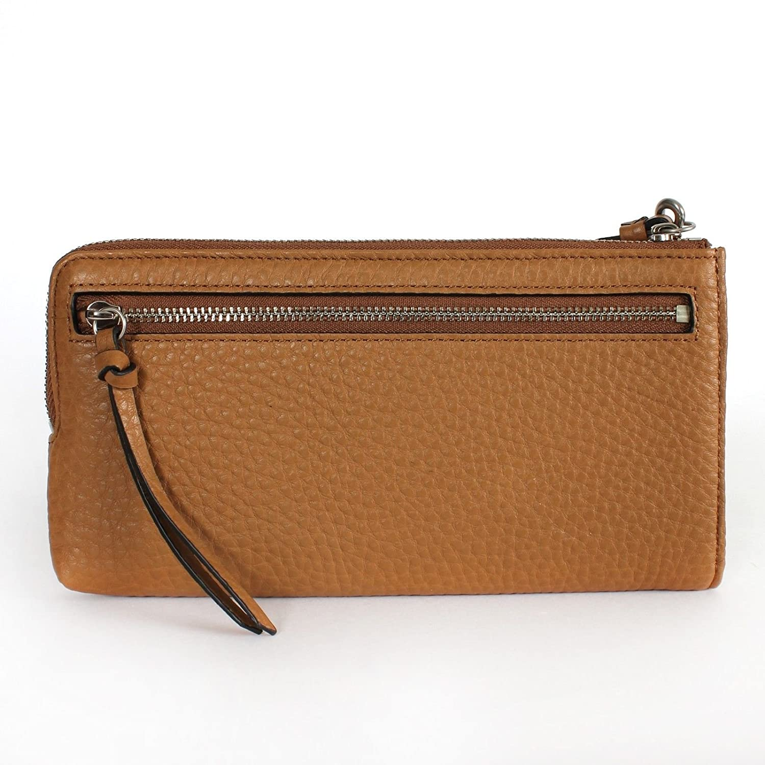 Coach Bleecker Leather Zippy Wallet Wristlet