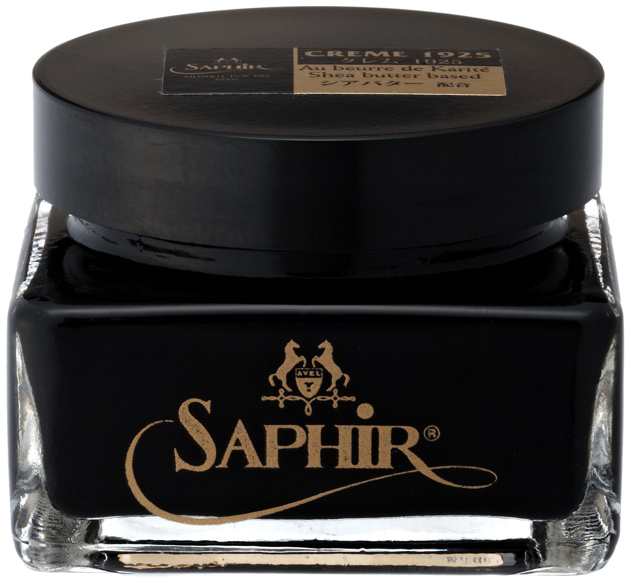 Saphir Pommadier Cream Shoe Polish - Black #01
