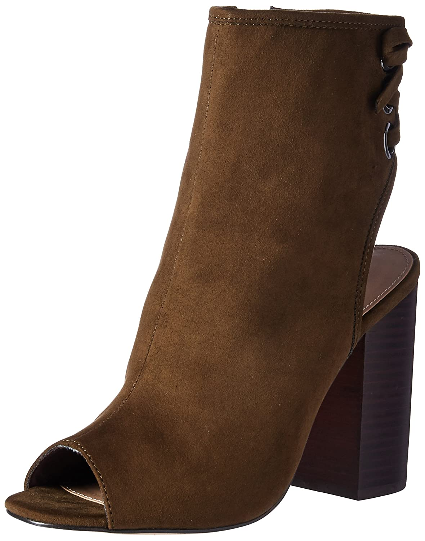 ALDO Women's Justina Ankle Bootie B072NCLFFF 6.5 B(M) US|Khaki