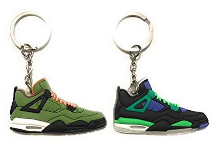 Zapatos Sneaker llavero aj-retro 4 dos unidades, Verde ...