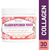 Reserveage - Collagen Replenish Powder with Hyaluronic Acid and Collagen Peptides to Support Youthful Skin, Non-GMO, and Gluten Free, 30 Servings (2.75 oz)