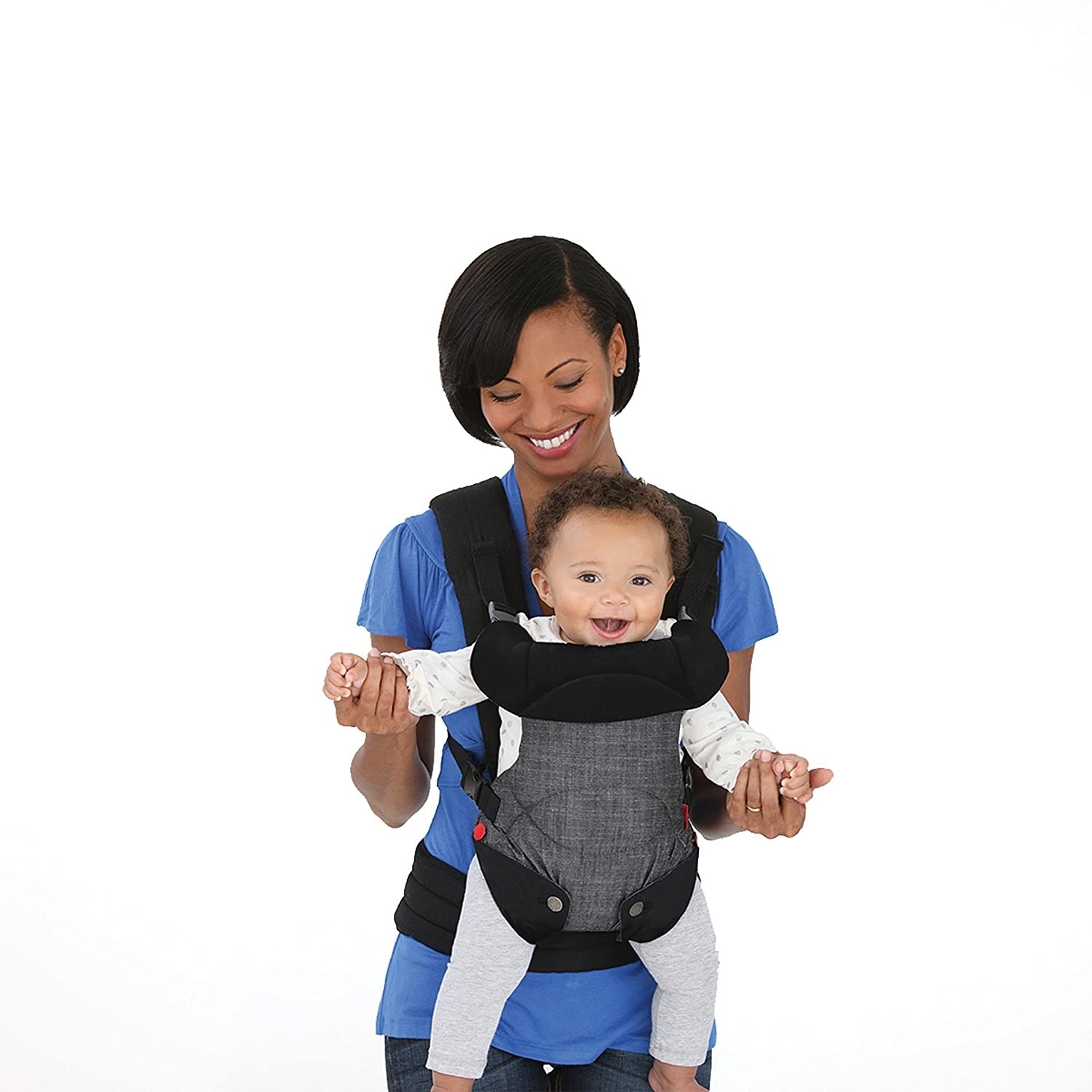 3fe352bfcd4 Amazon.com   Infantino Fusion Flexible Position Baby Carrier