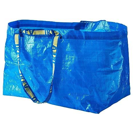 Ikea FRAKTA - Juego de 9 bolsitas de café Grandes, Color Azul
