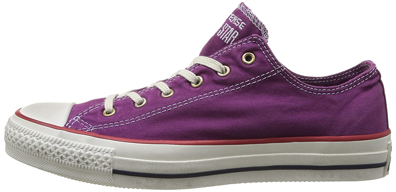 ConverseChuck Taylor All Star Well Worn Ox - Botines adultos unisex, color Morado, talla 36: Amazon.es: Zapatos y complementos