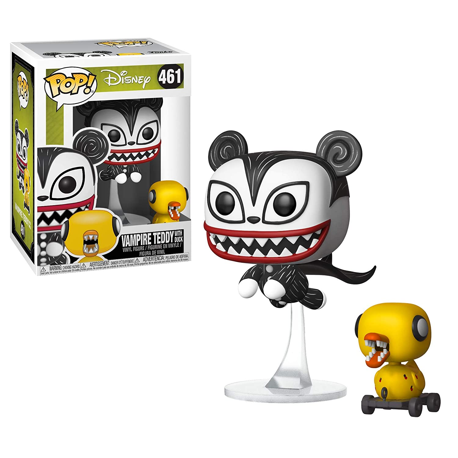 Funko Pop! Disney Nightmare Before Christmas - Vampire Teddy with ...