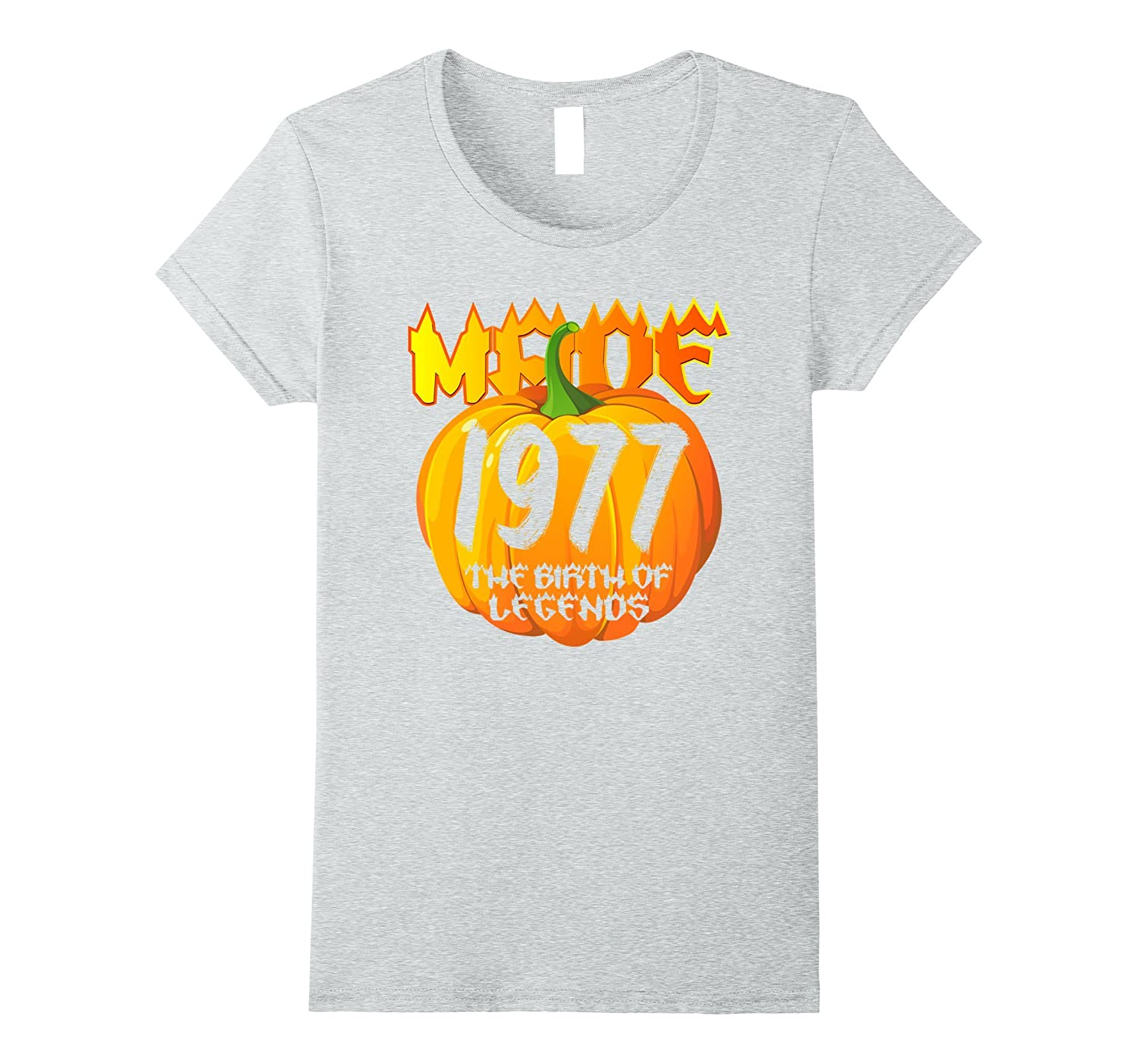 Halloween Pumpkins made in by 1977 40 th Tshirt