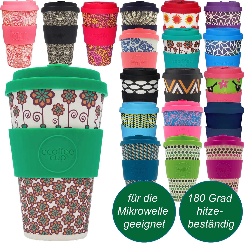Ecoffee Cup | Coffee Cup Stockholm Design | 1 x 14oz