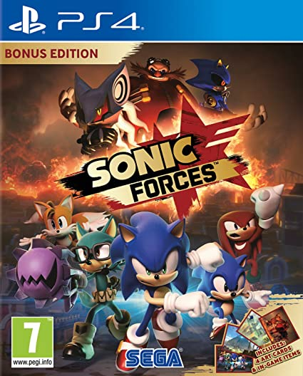Sonic Forces - Bonus Edition: PlayStation 4: Amazon.es ...
