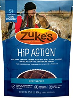 product image for Zuke's Hip Action Hip & Joint Dog Treats Beef Recipe - 16 oz. Bag