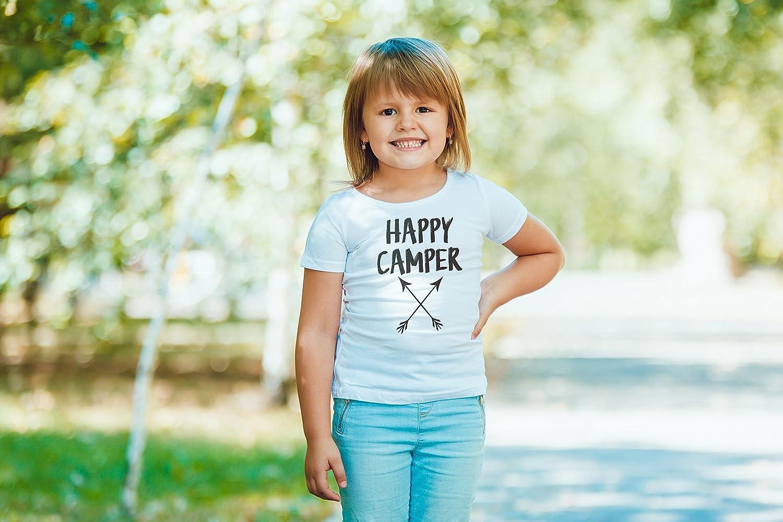 Custom Party Shop Kids Happy Camper Outdoors T-Shirt