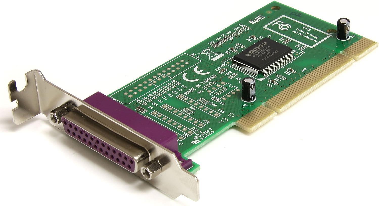 B00006B8DW StarTech.com 1 Port Low Profile PCI Parallel Adapter Card - Parallel adapter - PCI low profile - IEEE 1284 - PCI1P_LP 81I3tfZY1AL