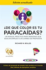 ¿De qué color es tu paracaídas? (Spanish Edition) Kindle Edition