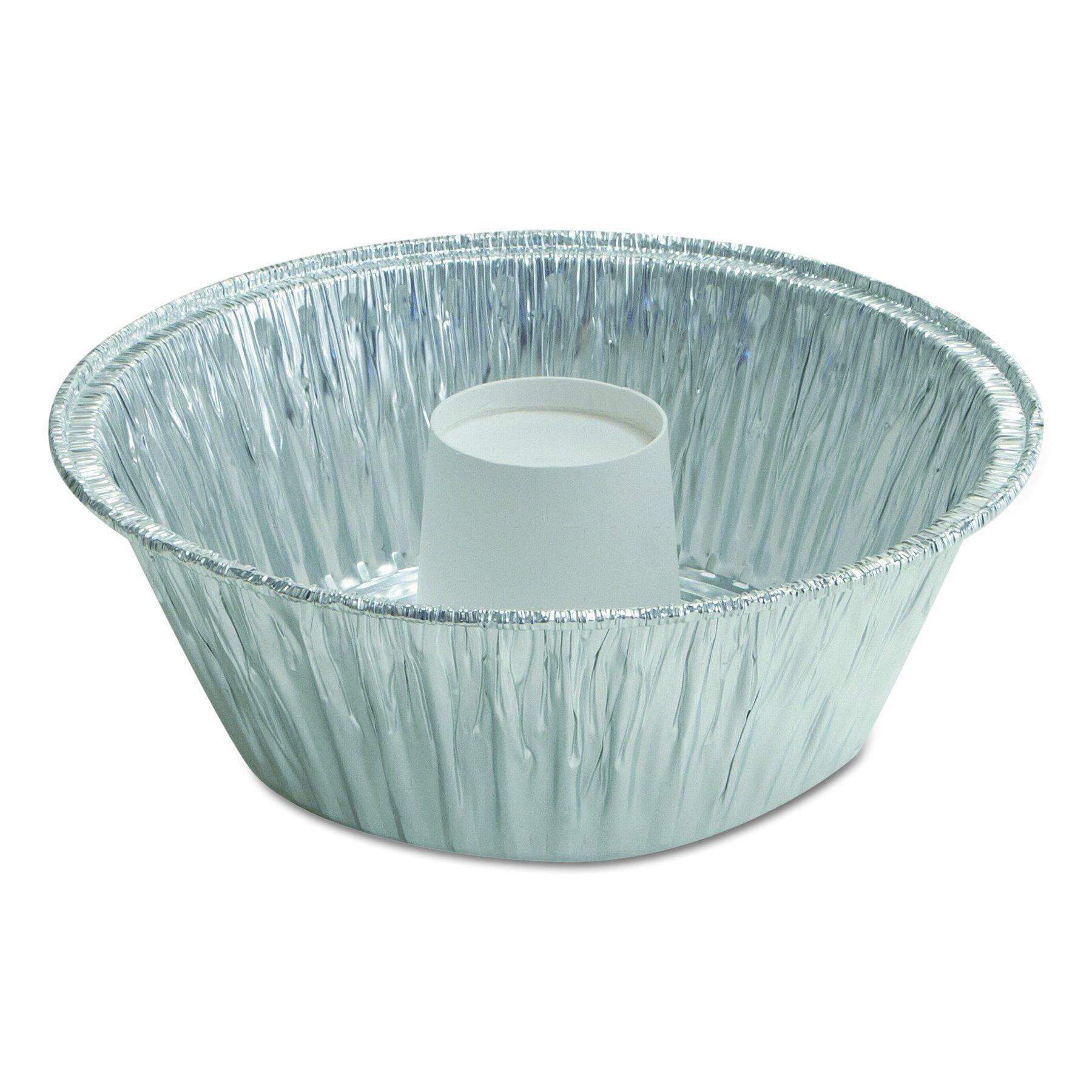 Handi-Foil of America 406035 Angel Food Cake Pan, 60 oz, 8 3/4'' x 3 5/32'' (Case of 250)