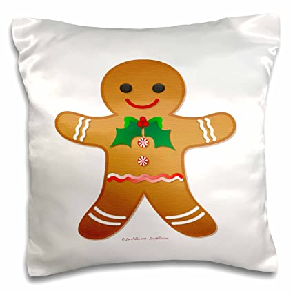 lee hiller designs holidays christmas happy holidays christmas gingerbread man cookie boy 16x16