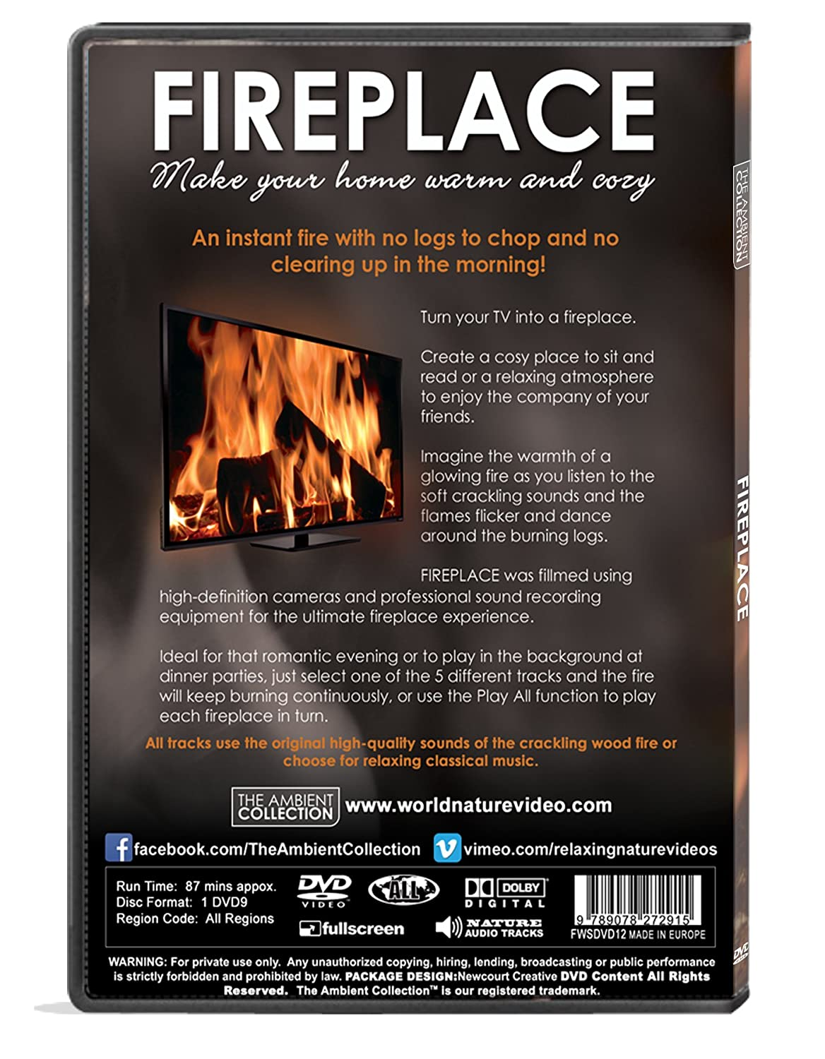 fireplace dvd fireplace 2016 filmed in high definition included