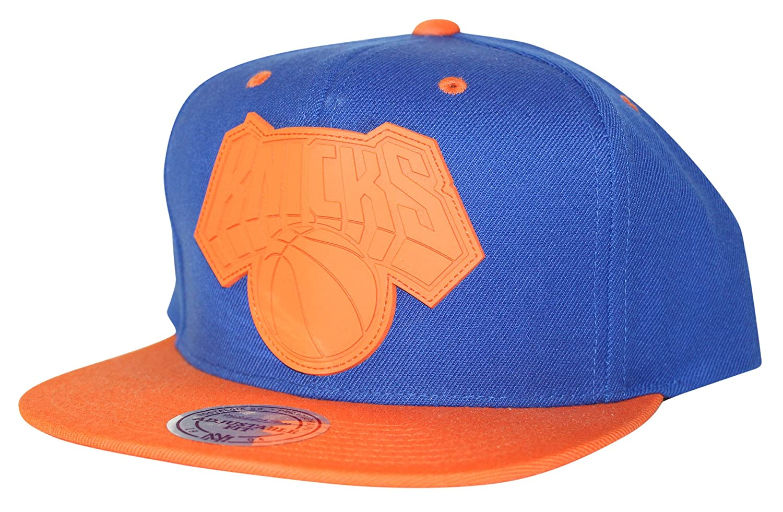 b88372f4789 Mitchell   Ness Men s NBA XL Rubber Weld Logo Snapback Cap