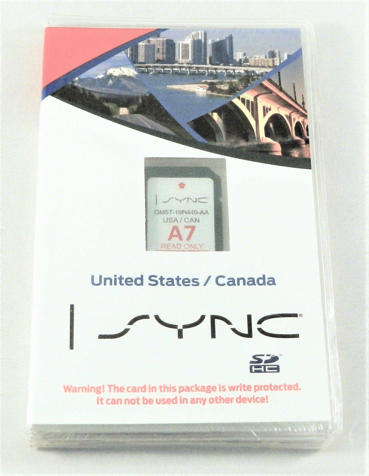NEW OEM Ford SYNC Memory Card A7 USA & Canada GM5Z-19H449-B