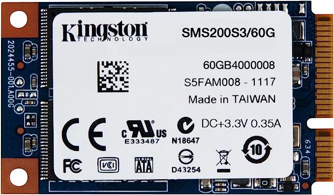 Kingston SSDNow mS200 60GB - Disco Duro sólido Interno SSD de 60 ...