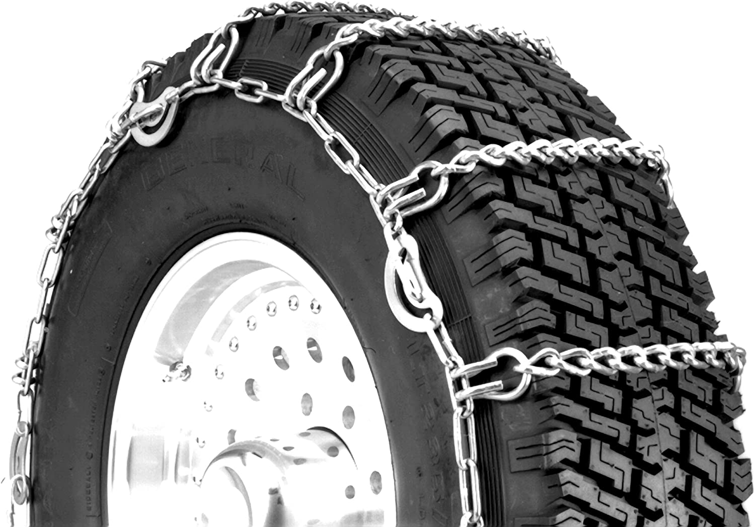 Security Chain Company QG2221CAM Quik Grip Light Truck CAM LSH Tire Traction Chain Set of 2