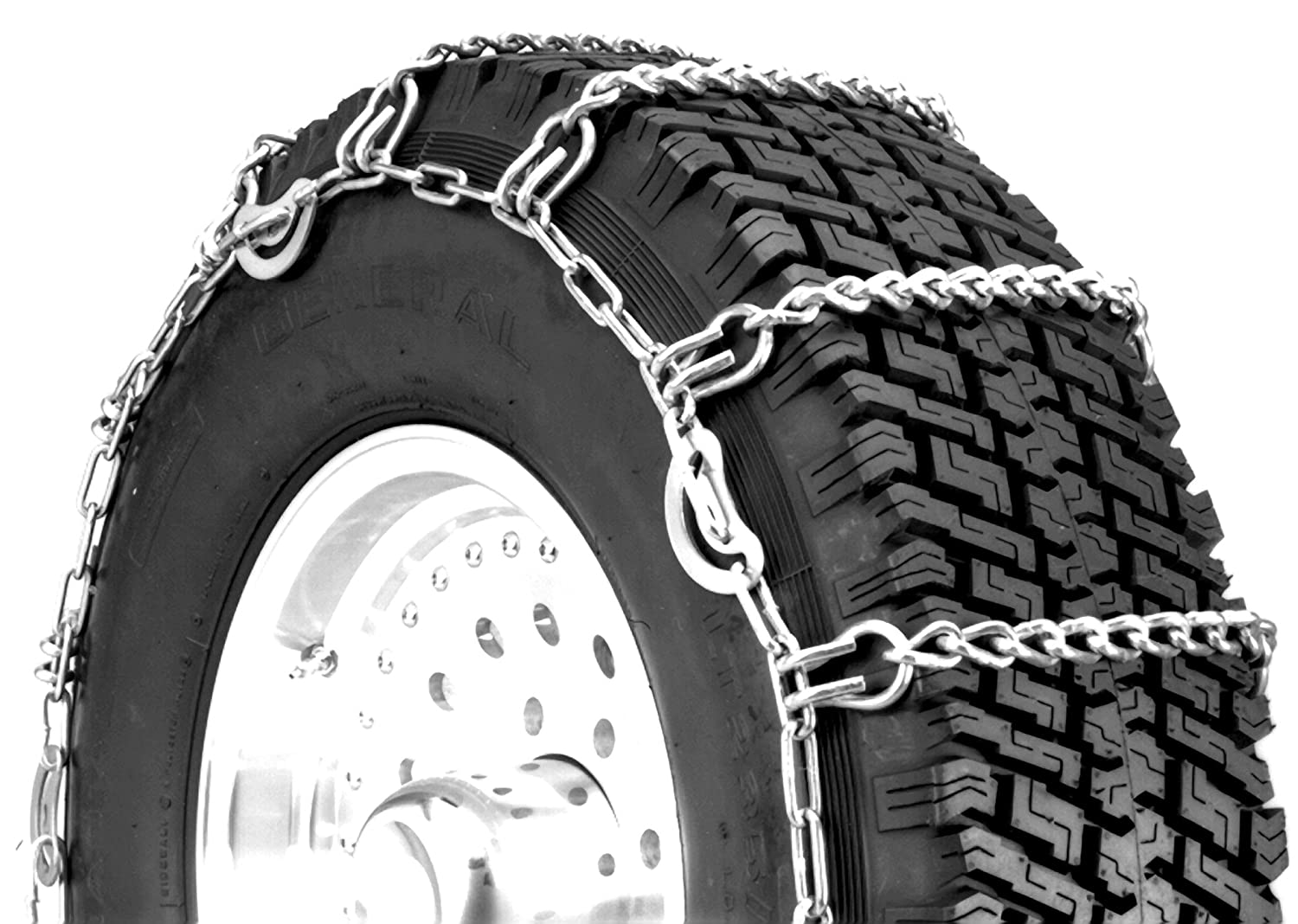 Security Chain Company QG2221CAM Quik Grip Light Truck Type CAM LSH Tire Traction Chain, Set of 2