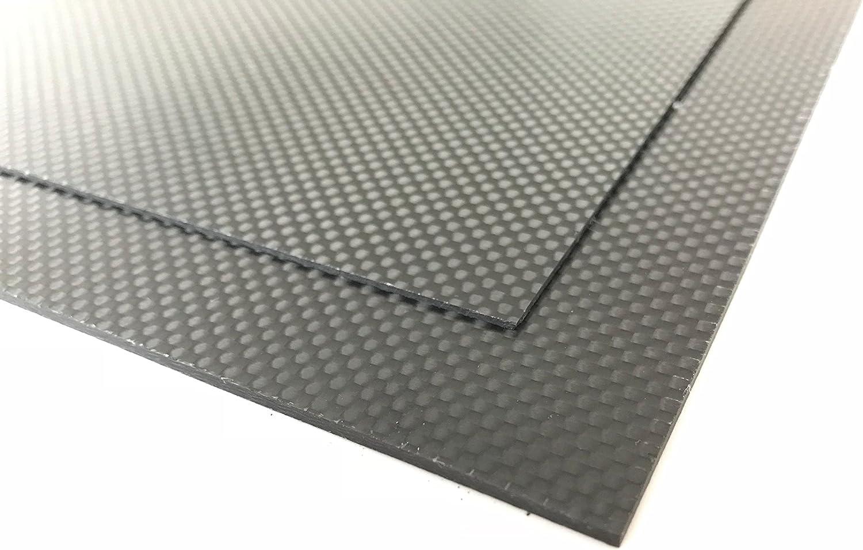 Plaque de 0,5/mm CF Epoxy HT Carbon Plaque//fibre de carbone CFK Format Environ 520/x 260/mm Convient pour mod/élisme