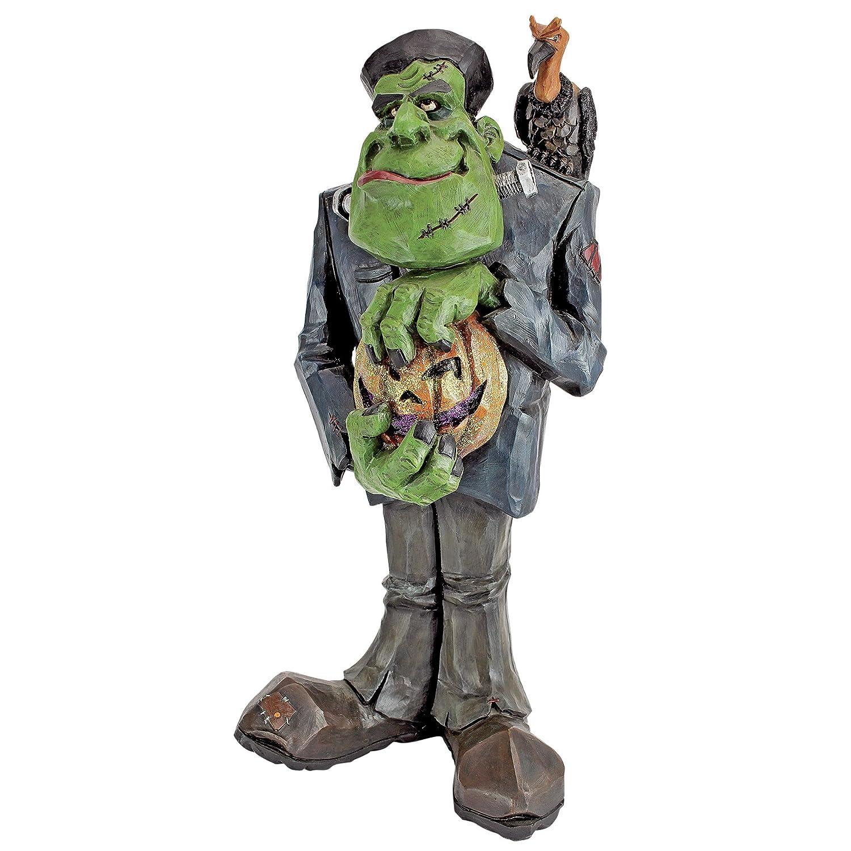 Cugino di Frankenstein Garden Statue - Frankenstein Figure - Zombie Statue - Halloween Prop Design Toscano HF550412