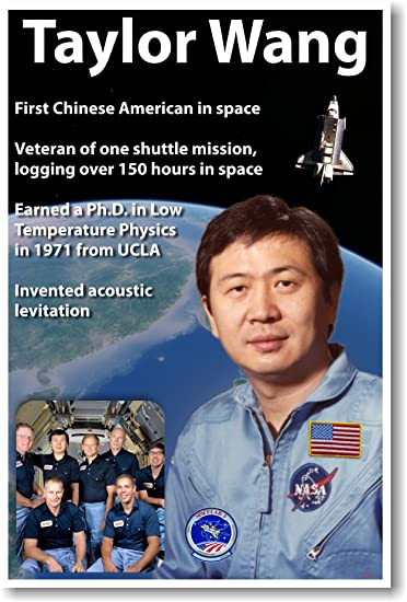 Amazon Com Nasa Astronaut Taylor Wang First Chinese American In